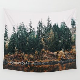 Gillette Lake III Wall Tapestry