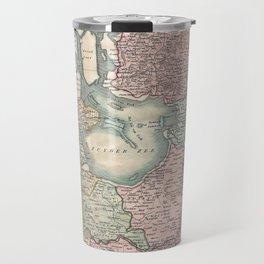 Vintage Map of The Netherlands (1799) Travel Mug
