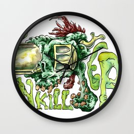 Gun Killer's Wall Clock
