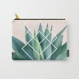 Agave geometrics - peach Carry-All Pouch
