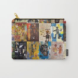 Basquiat Montage Carry-All Pouch