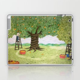 Amongst the Oranges Laptop & iPad Skin
