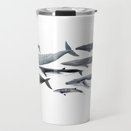 Whales and right whale Travel Mug