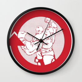 SFV ZANGIEF Wall Clock