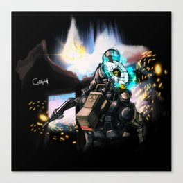 Hacking an Army : Titanfall Canvas Print