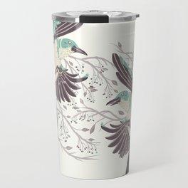 Birds of Summer Travel Mug