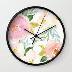 Floral 02 Wall Clock