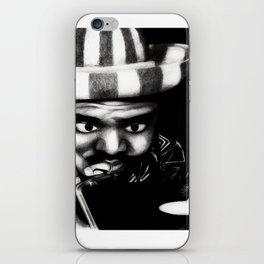 Reggae DJ iPhone Skin