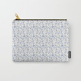 Ditsy  Hydrangeas Carry-All Pouch