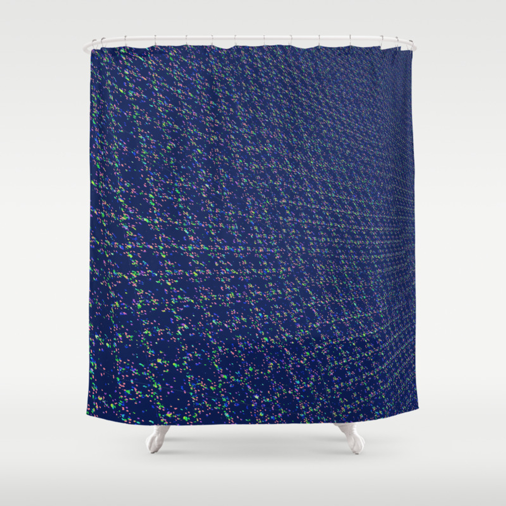 Nothing But Net Shower Curtain by Malaulau CTN8812615