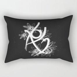 Fearless Rune Rectangular Pillow