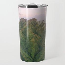 Clouds over the Koʻolau Mountains on Oahu Travel Mug