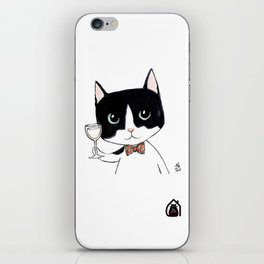 """Casimir"" by Mercredy Lunaris iPhone Skin"