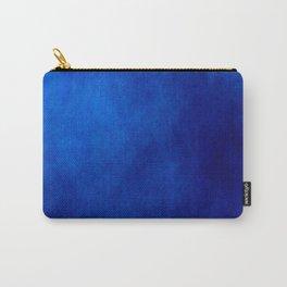 Misty Deep Blue Carry-All Pouch