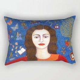 "Violeta Parra - ""Thanks to Life "" Rectangular Pillow"