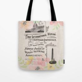 First International Woman Suffrage Conference - 1902 Tote Bag