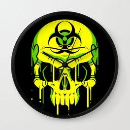 Toxic Melt Wall Clock