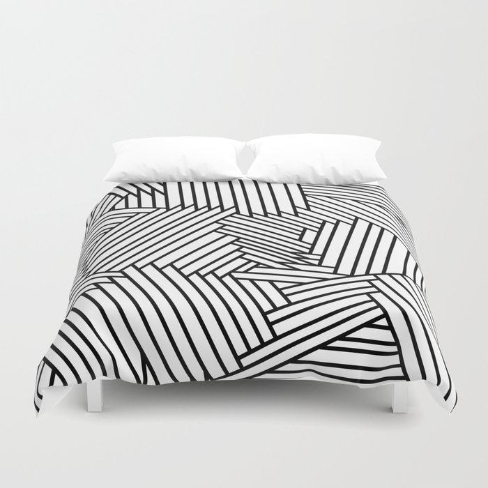 Ups and Downs Duvet Cover