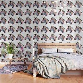 Zebra Colorful Animal Wallpaper