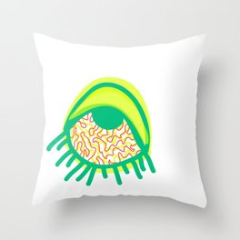 Swamp and Tired Throw Pillow