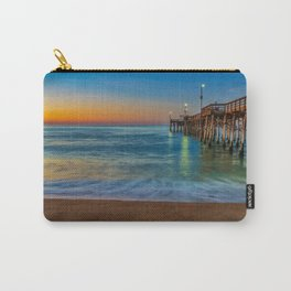 Sunrise Colors at Balboa Pier Carry-All Pouch