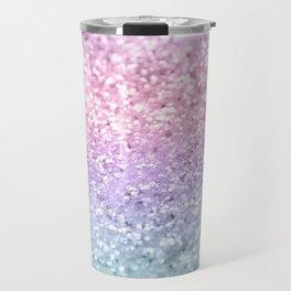 Unicorn Girls Glitter #1 #shiny #pastel #decor #art #society6 Travel Mug