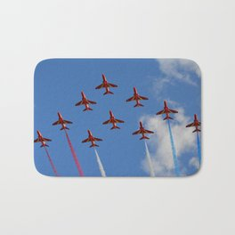 The Red Arrows 1/3 Bath Mat