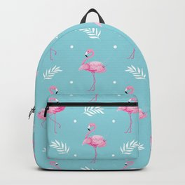 Sweet Flamingo Pattern. Backpack