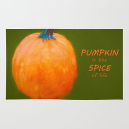 Pumpkin is the spice of life Rug