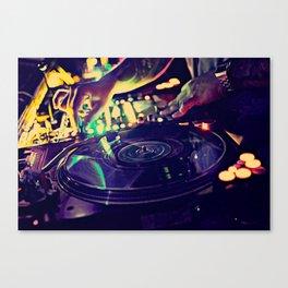 At Nightclub Canvas Print