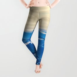 Airplane above the Clouds I Leggings