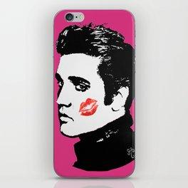 Elvis in the Pink iPhone Skin