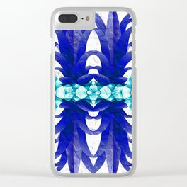 Aint Got No Pineapple Blues Clear iPhone Case