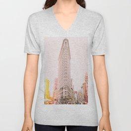 Flatiron - NYC Unisex V-Neck