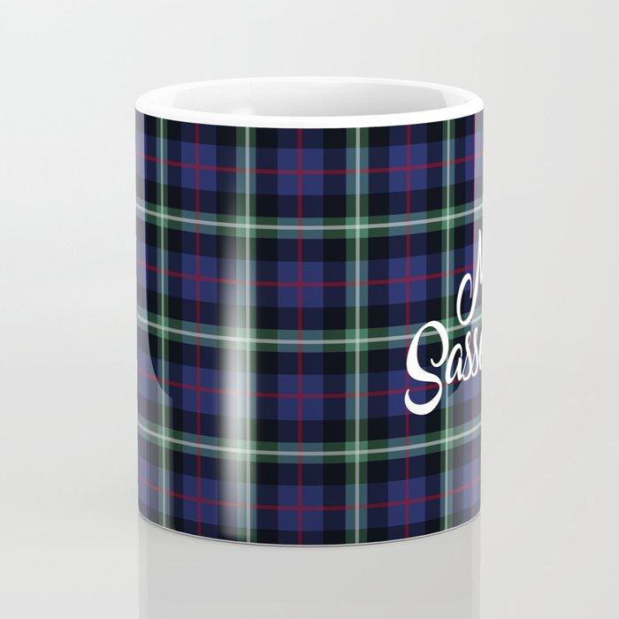 My Sassenach - Blue & Green Coffee Mug