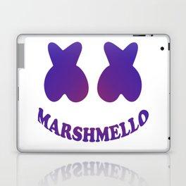 Purple in Marshmello Laptop & iPad Skin