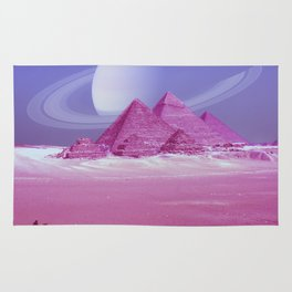 Pyramids, Saturn & the Desert Rug