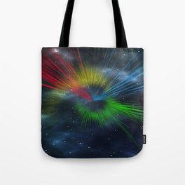 universe streaks Tote Bag