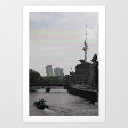 Burn Berlin Burn Art Print