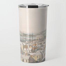 Vintage Pictorial Map of St George (1816) Travel Mug