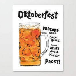 The Drink Collective: Oktoberfest Canvas Print