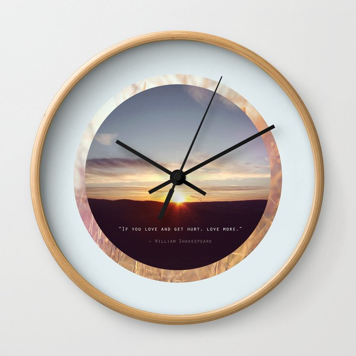 If you Love... Wall Clock