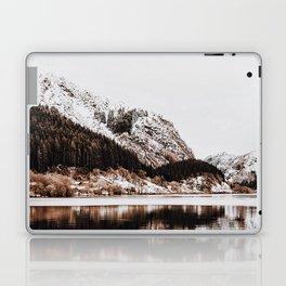 LAKE - OCEAN - BAY - SNOW - MOUNTAINS - HILLS - PHOTOGRAPHY Laptop & iPad Skin