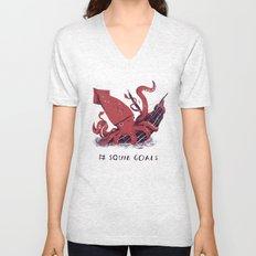 squid goals #squadgoals shirt Unisex V-Neck