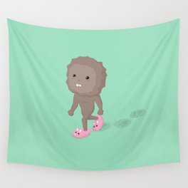 Accidental Legends: Bigfoot Wall Tapestry