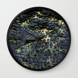 Pitted Seastone Wall Clock
