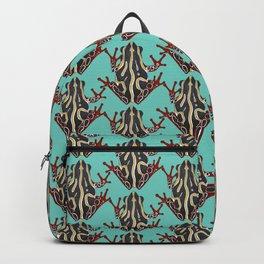 congo tree frog mint Backpack