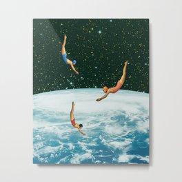 Space jumps Metal Print