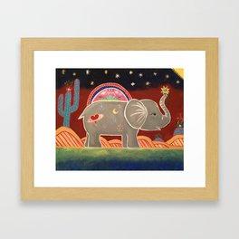 Effervescing Elephant*~ Framed Art Print