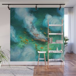 Dive With Me Wall Mural